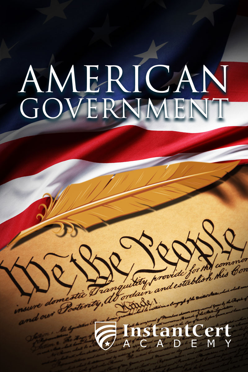 American Government course cover