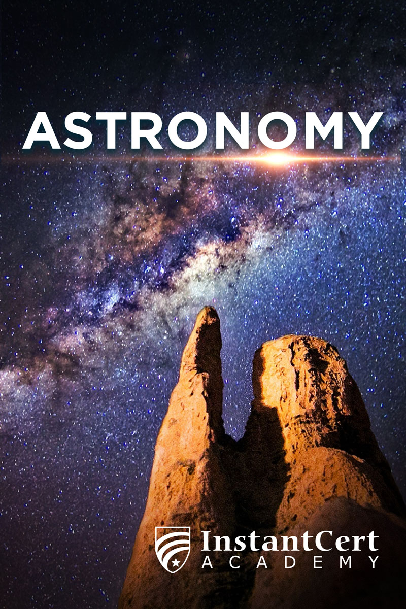 Astronomy course cover